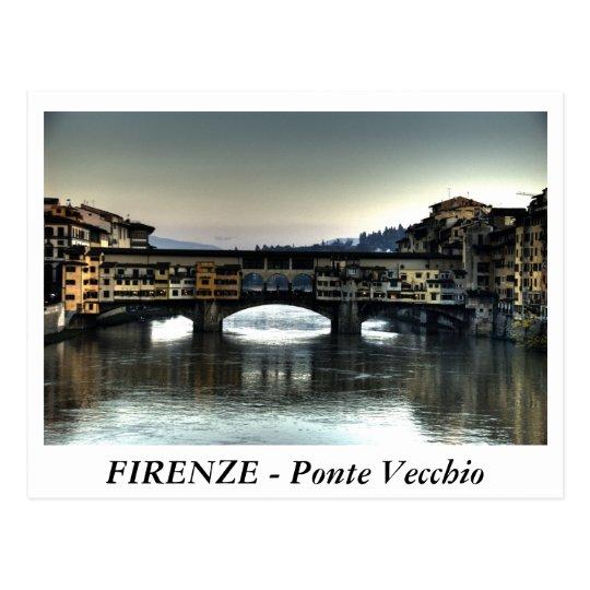 Postal FIRENZE - Ponte Vecchio