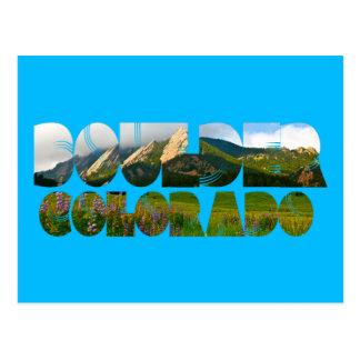 Postal Flairons, Boulder Colorado