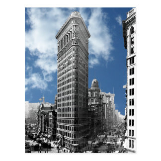Postal Flatiron que construye New York City