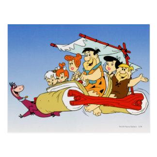 Postal Flintstone Wilma Barney y Betty PEBBLES™ de Fred