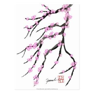 Postal Flor de cerezo 20, Tony Fernandes de Sakura