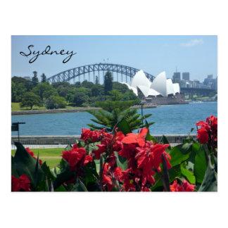 Postal flora del puerto de Sydney