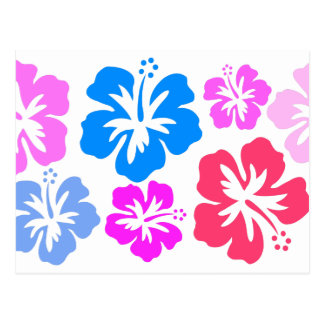 Postal Floral y pink