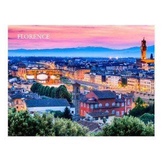 POSTAL Florencia, Italia