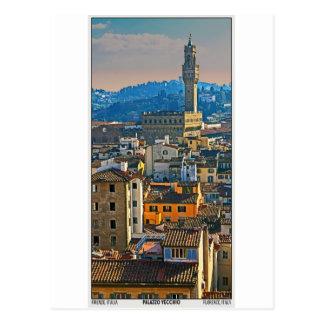 Postal Florencia - Palazzo Vecchio
