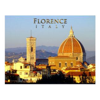 Postal Florencia - Santa María del Fiore