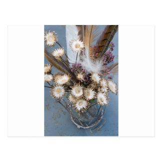 Postal Flores secadas 1