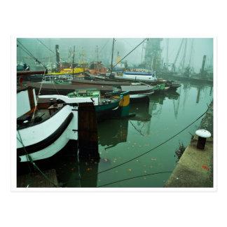 Postal Foggy Harbor