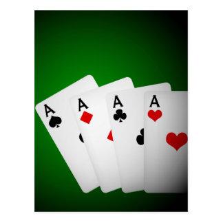 Postal Fondo del póker