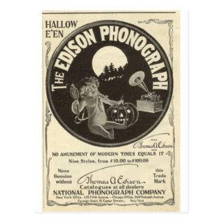 Postal Fonógrafo de Edison