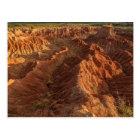 Postal Formaciones de roca del desierto de Tatacoa