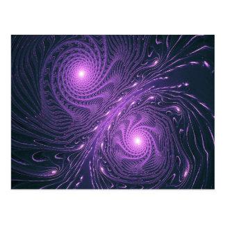 Postal formas ligeras astrales