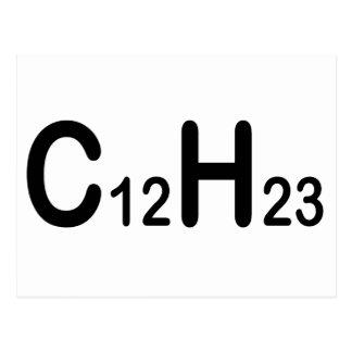 Postal Fórmula química del combustible diesel