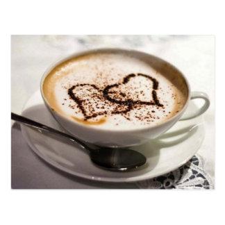 Postal Foto asombrosa del café