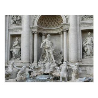 Postal Foto de Fontana di Trevi Roma de la fuente del