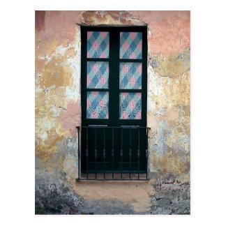 Postal Foto de la verja de la ventana