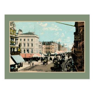 Postal Foto de Londres de la calle de Oxford del color de