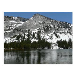 Postal Foto del parque nacional de Yosemite del lago