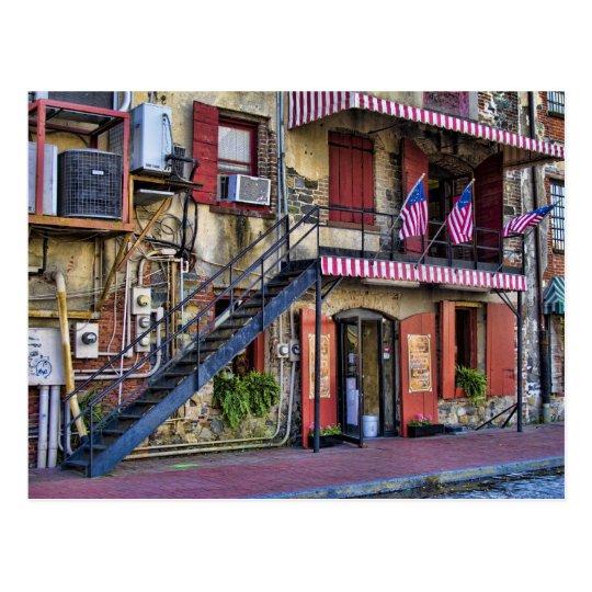 Postal Foto del viaje de Georgia de la sabana de la calle