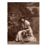 Postal foto del vintage