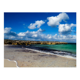 Postal Foto tropical simple de la playa