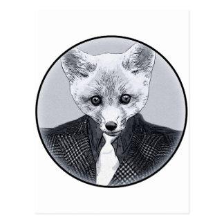 Postal Fox del negocio