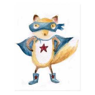Postal ¡Fox estupendo!