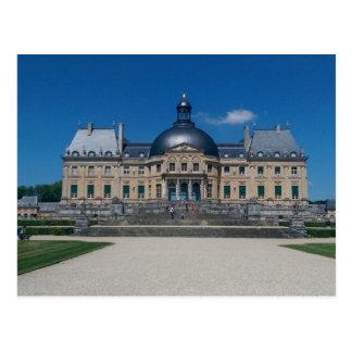 Postal francesa del castillo francés