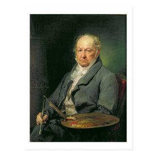 Postal Francisco Jose de Goya, 1826 (aceite en lona)
