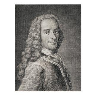 Postal Francois Marie Arouet de Voltaire