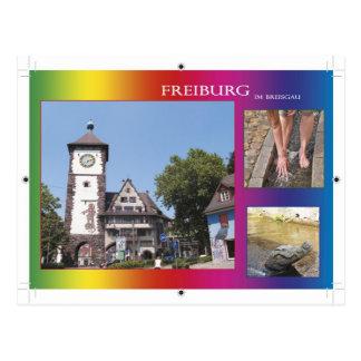 Postal Freiburg en el máximo accidente previsible
