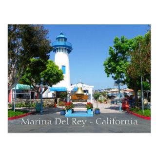 ¡Postal fresca de Marina Del Rey!