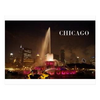 Postal Fuente de CHICAGO Buckingham (St.K)