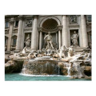 Postal Fuente del Trevi (Fontana di Trevi) - Roma