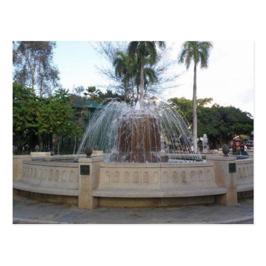 Postal Fuente Plaza de Caguas