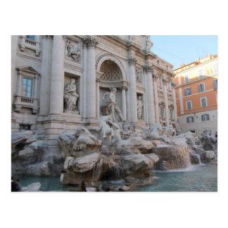 Postal Fuente Roma, Italia del Trevi