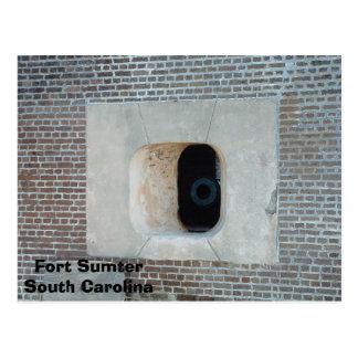 Postal Fuerte Sumter