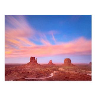 Postal Fuertes vientos sobre el valle del desierto