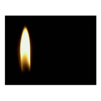Postal fúnebre triste del negro de la muerte de la