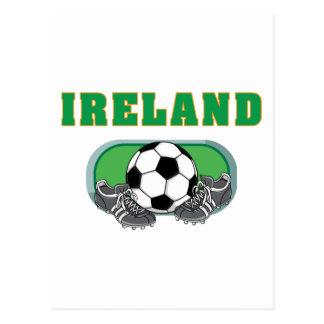 Postal Fútbol del fútbol de Irlanda