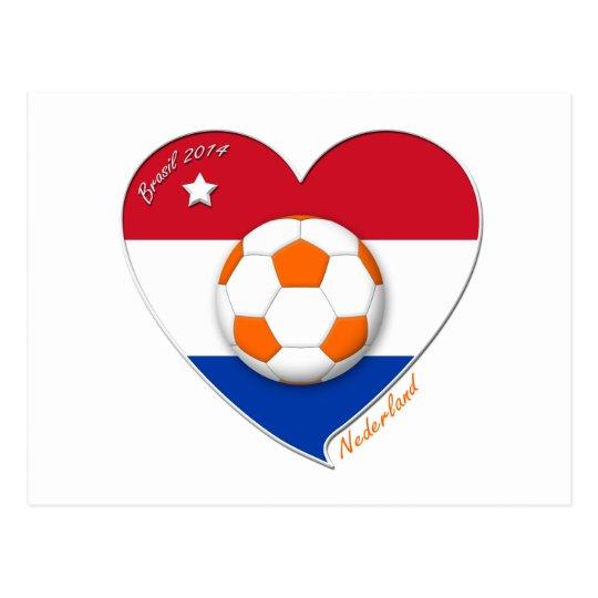 Postal Fútbol Netherlands. NEDERLAND soccer national team