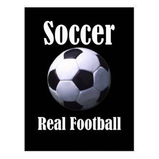 Postal Fútbol real del fútbol