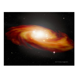 Postal Galaxia espiral 3