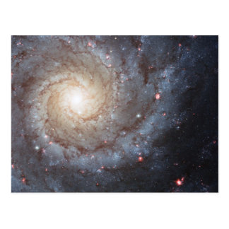 Postal Galaxia espiral M74