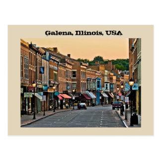 Postal Galena, Illinois, los E.E.U.U.