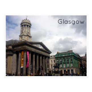 Postal galería de arte moderno Glasgow