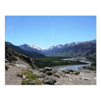 Postal Gama de los Andes, Patagonia
