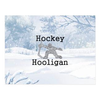 Postal Gamberro SUPERIOR del hockey
