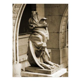 Postal Gargoyle gótico
