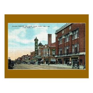 Postal Gary, Indiana en el comienzo del siglo XX